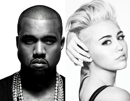 kanye-west-and-miley-cyrus-record-black-skinhead-remix